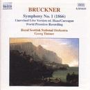 ブルックナー: 交響曲第1番(1866年初稿/キャラガン校訂)/交響曲第3番より「アダージョ」(ティントナー)/ゲオルク・ティントナー(指揮)/ロイヤル・スコティッシュ・ナショナル管弦楽団