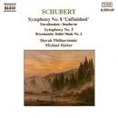 シューベルト: 交響曲第8番「未完成」/第5番/「キプロスの女王ロザムンデ」の音楽/ミヒャエル・ハラース(指揮)/スロヴァキア・フィルハーモニー管弦楽団