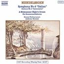 メンデルスゾーン: 交響曲第4番「イタリア」, 劇付随音楽「夏の夜の夢」(ハイライト)/アンソニー・ブラモール(指揮)/スロヴァキア・フィルハーモニー管弦楽団