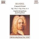 ヘンデル: 合奏協奏曲 Op. 3-3 Op. 6 No. 4 - No. 6/ヨーゼフ・コペルマン(指揮)/カペラ・イストロポリターナ