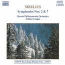シベリウス: 交響曲第2番, 第7番/エイドリアン・リーパー(指揮)/スロヴァキア・フィルハーモニー管弦楽団