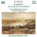 ドヴォルザーク: 交響曲第3番, 第6番/スティーヴン・ガンゼンハウザー(指揮)/スロヴァキア・フィルハーモニー管弦楽団
