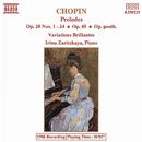 ショパン: 前奏曲全集, 華麗なる変奏曲/イリーナ・ザリツカヤ(ピアノ)