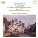 シューベルト: 八重奏曲 D. 803, D. 72/ブダペスト・シューベルト・アンサンブル