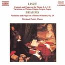 リスト: BACHの名による幻想曲とフーガ, ブラームス: ヘンデルの主題による変奏曲とフーガ 他/マイケル・ポンティ(ピアノ)