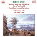 ベートーヴェン: チェロ・ソナタ第1番, 第2番 他/チャバ・オンツァイ(チェロ)/イェネ・ヤンドー(ピアノ)