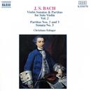 J.S. バッハ: 無伴奏ヴァイオリンのためのソナタとパルティータ集 第2集/クリスティアーネ・エディンガー(ヴァイオリン)