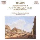 ハイドン: 交響曲第22番「哲学者」, 第29番, 第60番「うすのろ」/ニコラス・ウォード(指揮)/ノーザン室内管弦楽団