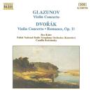 グラズノフ, ドヴォルザーク: ヴァイオリン協奏曲/カミラ・コルチンスキー(指揮)/イリヤ・カーラー(ヴァイオリン)/ポーランド国立放送交響楽団