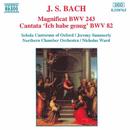 J.S. バッハ: マニフィカト ニ長調 BWV 243, カンタータ 第82番「われは満ち足れり」 BWV 82/ニコラス・ウォード(指揮)/スコラ・カントルム・オブ・オックスフォード/ノーザン室内管弦楽団