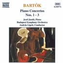 バルトーク: ピアノ協奏曲第1番 - 第3番/アンドラーシュ・リゲティ(指揮)/イェネ・ヤンドー(ピアノ)/ブダペスト交響楽団