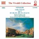ヴィヴァルディ: チェロ協奏曲集 - 2/KeithHurvey(チェロ)/ニコラス・クレーマー(指揮)/ラファエル・ウォルフィッシュ(チェロ)/シティ・オブ・ロンドン・シンフォニア