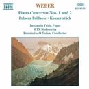 ウェーバー: ピアノ協奏曲第1番, 第2番, 華麗なポラッカ「笑いこける」 他/ベンジャミン・フリス(ピアノ)/プリンシアス・オ・デュイン(指揮)/RTEシンフォニエッタ