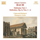 J.C. バッハ: 交響曲集 2/ハンスペーター・グミュール(指揮)/カメラータ・ブダペスト