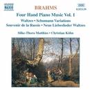ブラームス: 4手のためのピアノ作品集 第1集(シューマンの主題による変奏曲 他)/クリスティアン・ケーン(ピアノ)/ジルケ=トーラ・マティース(ピアノ)