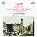 ハイドン: 交響曲第45, 94, 101番/バリー・ワーズワース(指揮)/カペラ・イストロポリターナ