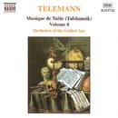 テレマン: ターフェルムジーク(食卓の音楽) - Vol.4/ギャヴィン・エドワーズ(ホルン)/ヘザー・フォクスウェル(オーボエ)/ロジャー・モンゴメリー(ホルン)/黄金時代の管弦楽団