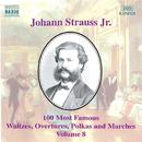 J. シュトラウスII世: 100曲選 第8集/バリアスアーティスツ