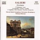 サリエリ: 序曲集/ミハエル・ディトリッヒ(指揮)/スロヴァキア放送交響楽団
