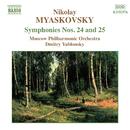 ミャスコフスキ: 交響曲第24番, 第25番/ドミトリ・ヤブロンスキー(指揮)/モスクワ・フィルハーモニー管弦楽団
