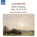 クレメンティ: ピアノ・ソナタ集 Op. 50, 第1番, Op. 34, 第2番, Op. 41/タニヤ・バニスター(ピアノ)