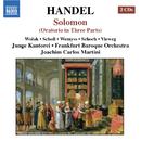 ヘンデル: オラトリオ「ソロモン」 HWV 67/ヨアヒム・カルロス・マルティーニ(指揮)/フランクフルト・バロック管弦楽団/ユンゲ・カントライ