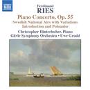 リース: ピアノ協奏曲集 第2集/クリストファー・ヒンターフーバー(ピアノ)/ウーヴェ・グロット(指揮)/イェヴレ交響楽団
