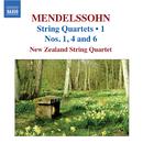 メンデルスゾーン: 弦楽四重奏曲集 第1集/ニュージーランド弦楽四重奏団