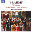 ブラームス: 2つの狂詩曲,  ワルツ集/イェネ・ヤンドー(ピアノ)