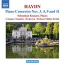 ハイドン: ピアノ協奏曲集/ヘルムート・ミュラー=ブリュール(指揮)/セバスティアン・クナウアー(ピアノ)/ケルン室内管弦楽団