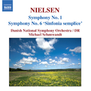 ニールセン: 交響曲第1番, 第6番「素朴な交響曲」/ミハエル・シェンヴァント(指揮)/デンマーク国立放送交響楽団
