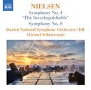 ニールセン: 交響曲第4番「不滅」, 第5番/ミハエル・シェンヴァント(指揮)/デンマーク国立放送交響楽団