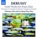 ドビュッシー: 4手ピアノのための初期作品集/アドリエンネ・ソーシュ(ピアノ)/イーヴォ・ハーグ(ピアノ)