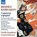 リムスキー=コルサコフ: スペイン狂詩曲 他/ジェラード・シュワルツ(指揮)/シアトル交響楽団