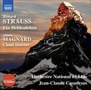 リヒャルト・シュトラウス: 交響詩「英雄の生涯」Op.40 他/ジャン=クロード・カザドシュ(指揮)/リール国立管弦楽団