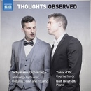 THOUGHTS OBSERVED(シューマン/デュパルク/ドビュッシー/アーン/プーランク: 声楽作品集)/ヤニフ・ドール(カウンター・テナー)/ダン・ドイチュ(ピアノ)