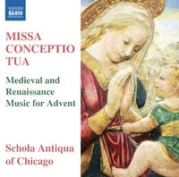 ミサ・コンチェプティオ・トゥーア ~待降節のための中世とルネッサンスの音楽