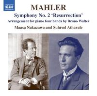 マーラー: 交響曲第2番「復活」(B.ワルターによるピアノ4手版)