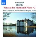 リース: ヴァイオリン・ソナタ集 第2集/エリック・グロスマン(ヴァイオリン)/スーザン・カガン(ピアノ)