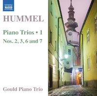 フンメル: ピアノ三重奏曲集 第1集