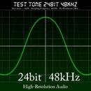 Test Tone 24bit 48kHz -16dB/High-Resolution Audio