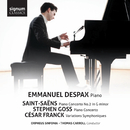 Saint-Saëns, Goss, Franck: Works for Piano & Orchestra/Emmanuel Despax, Orpheus Sinfonia, Thomas Carroll