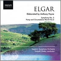 エルガー:交響曲第3番/行進曲「威風堂々」第6番(ペイン補筆完成版)