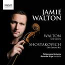 William Walton: Cello Concerto, Shostakovich: Cello Concerto No.1/Jamie Walton, Philharmonia Orchestra, Alexander Briger