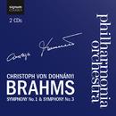 ブラームス交響曲 第1番 & 第3番/クリストフ・フォン・ドホナーニ&フィルハーモニア管弦楽団