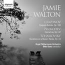 Glazunov: Conerto Ballata, Prokofiev: Concertino, Tchaikovsky: Variations on a Rococo Theme/Jamie Walton; Royal Philharmonic Orchestra; Okko Kamu