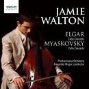 Elgar Cello Concerto, Myaskovsky Cello Concert/Jamie Walton, Philharmonia Orchestra, Alexander Briger