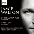 Shostakovich: Cello Concerto No. 2, Britten: Cello Symphony/The Philharmonia Orchestra, Jamie Walton