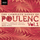 Poulenc Songs, vol.1/Robert Murray, Malcolm Martineau