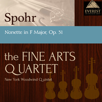 シュポア:九重奏曲 ヘ長調 Op.31/Members of the Fine Arts Quartet & the New York Woodwind Quintet
